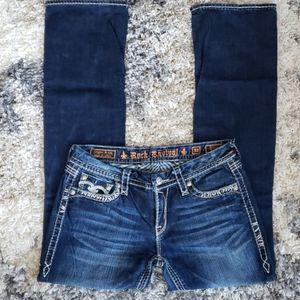 Rock Revival Jenna Boot Cut Jeans.  Size 30.